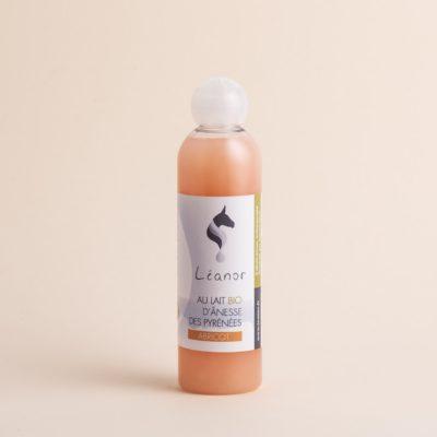 Gel douche au lait bio d'ânesse parfum Abricot