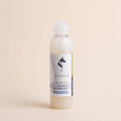 Gel douche au lait bio d'ânesse parfum Fleur de coton