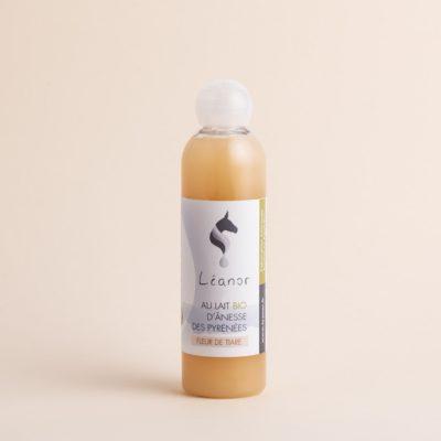 Gel douche au lait bio d'ânesse parfum Fleur de Tiare