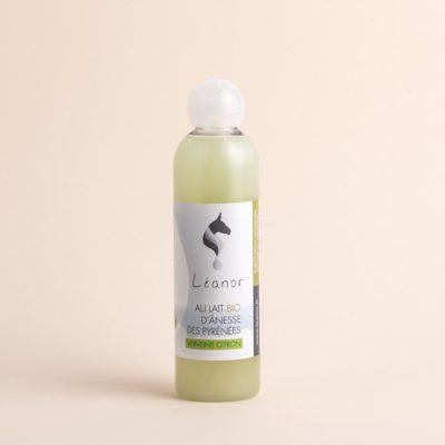 Gel douche au lait bio d'ânesse parfum Verveinne citron