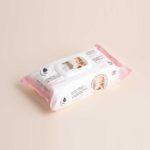 Lingettes bébé au coton bio et lait d'ânesse